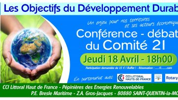 Conférence - Les Objectifs du Développement Durable